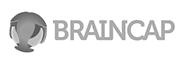 Braincap logo grijs