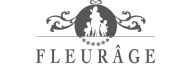 Fleurage logo grijs