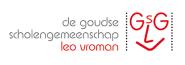 De goudse scholengemeenschap leo vroman logo