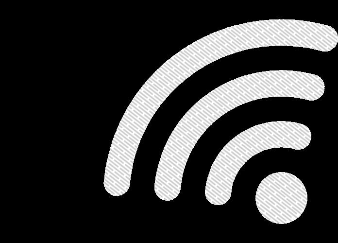 Achtergrond afbeelding WiFi logo