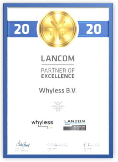 Lancom Partner of Excellence 2020